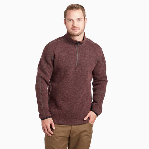 Kuhl FLEECE Top Men's Thor 1/4 Zip Pullover Mole