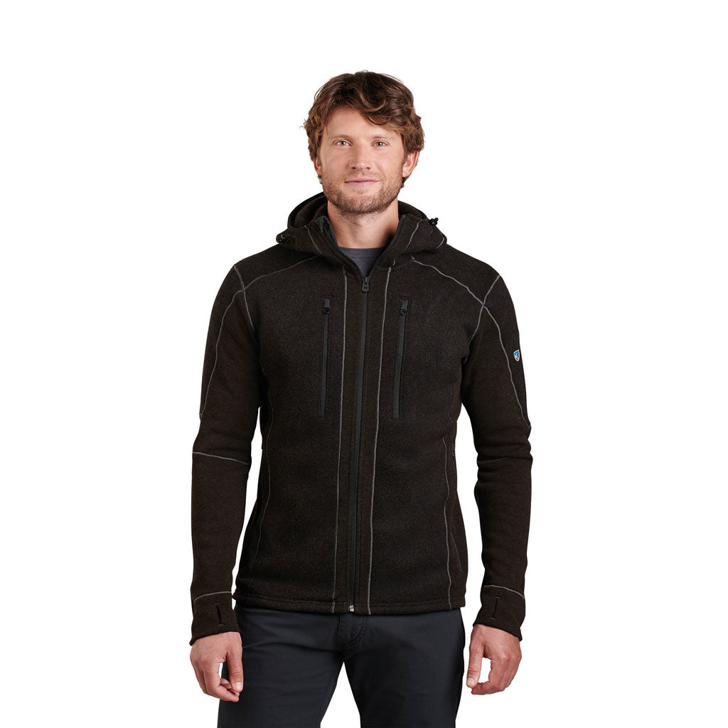 Kuhl FLEECE Jacket Men's Interceptr Hoody Charcoal