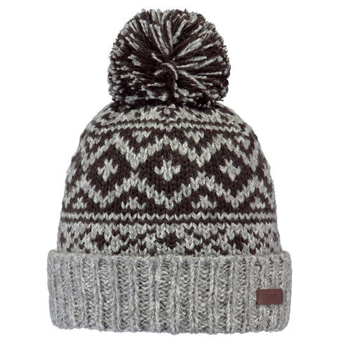 Barts Hat Men's Cartonn Beanie Heather Grey