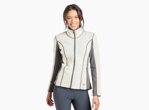 Women's Kuhl Kozet Full Zip Fleece - Neutral