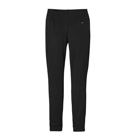 Patagonia BASE LAYER Pants Women's Capilene Thermal Weight Bottoms Black