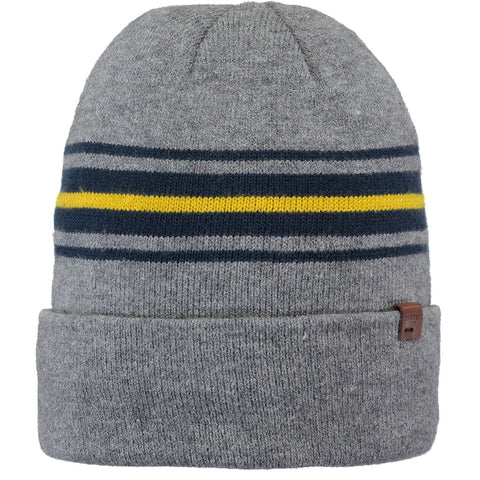 Barts Hat Men's Ando Beanie Heather Grey