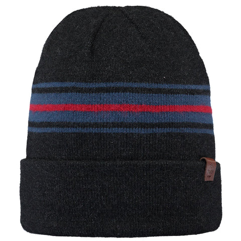 Barts Hat Men's Ando Beanie Charcoal