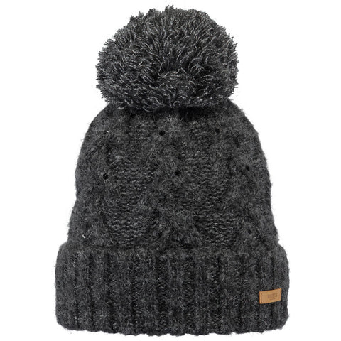 Barts Hat Women's Iphe Beanie Dark Heather