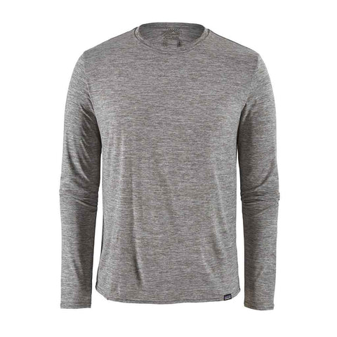 Patagonia BASE LAYER Top Men's Capilene Cool Daily LS Shirt Feather Grey