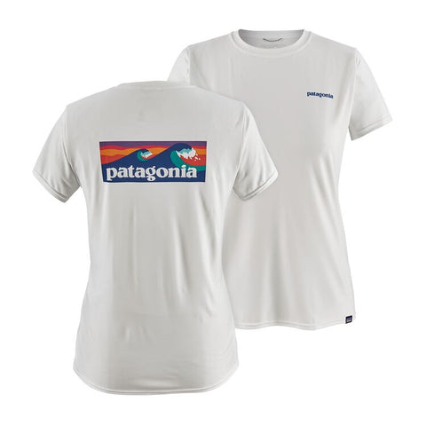 Patagonia Women's Capilene Cool Daily Graphic Shirt - White
