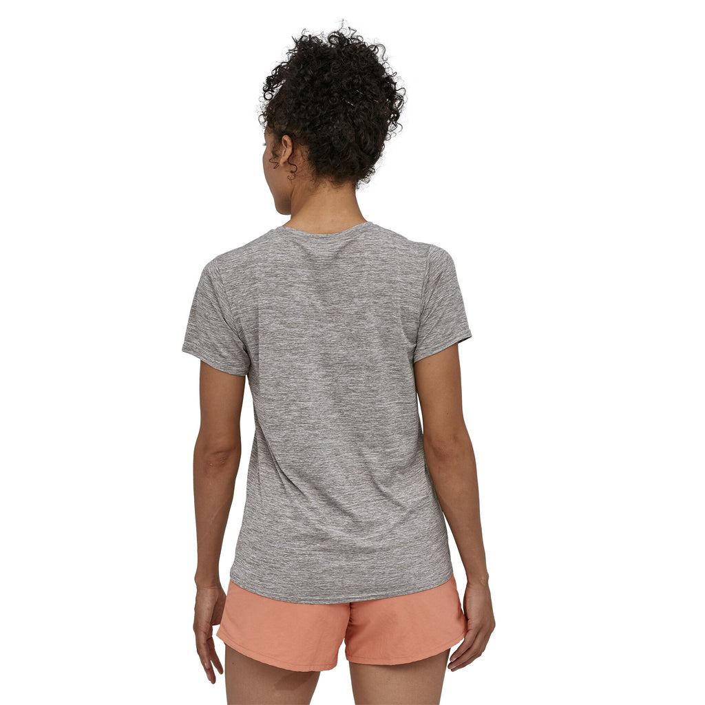 Women's Patagonia Capilene Cool Daily Graphic Shirt - Grey