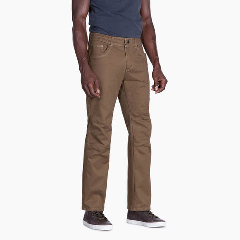 "Kuhl Pant Men's Rebel SHORT/30"" Leg Trousers Dark Khaki"