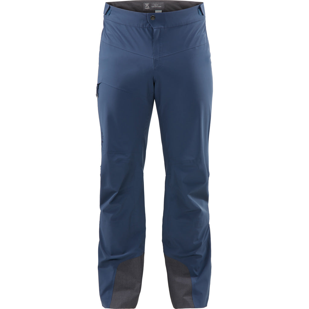 Haglofs WATERPROOF Overtrousers Men's LIM Touring Proof Pants Tarn Blue