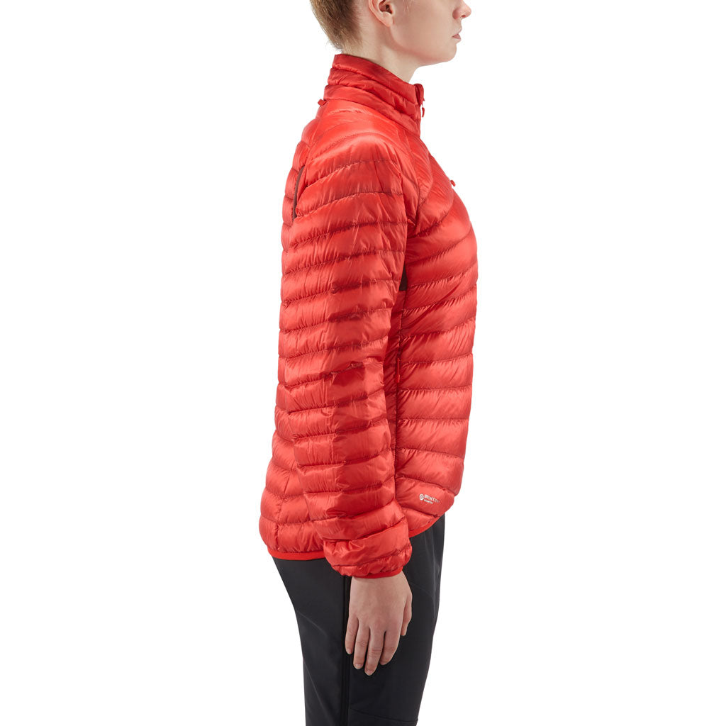 Haglofs INSULATED Jacket Women's Essens Down Hibiscus Red/Maroon Red