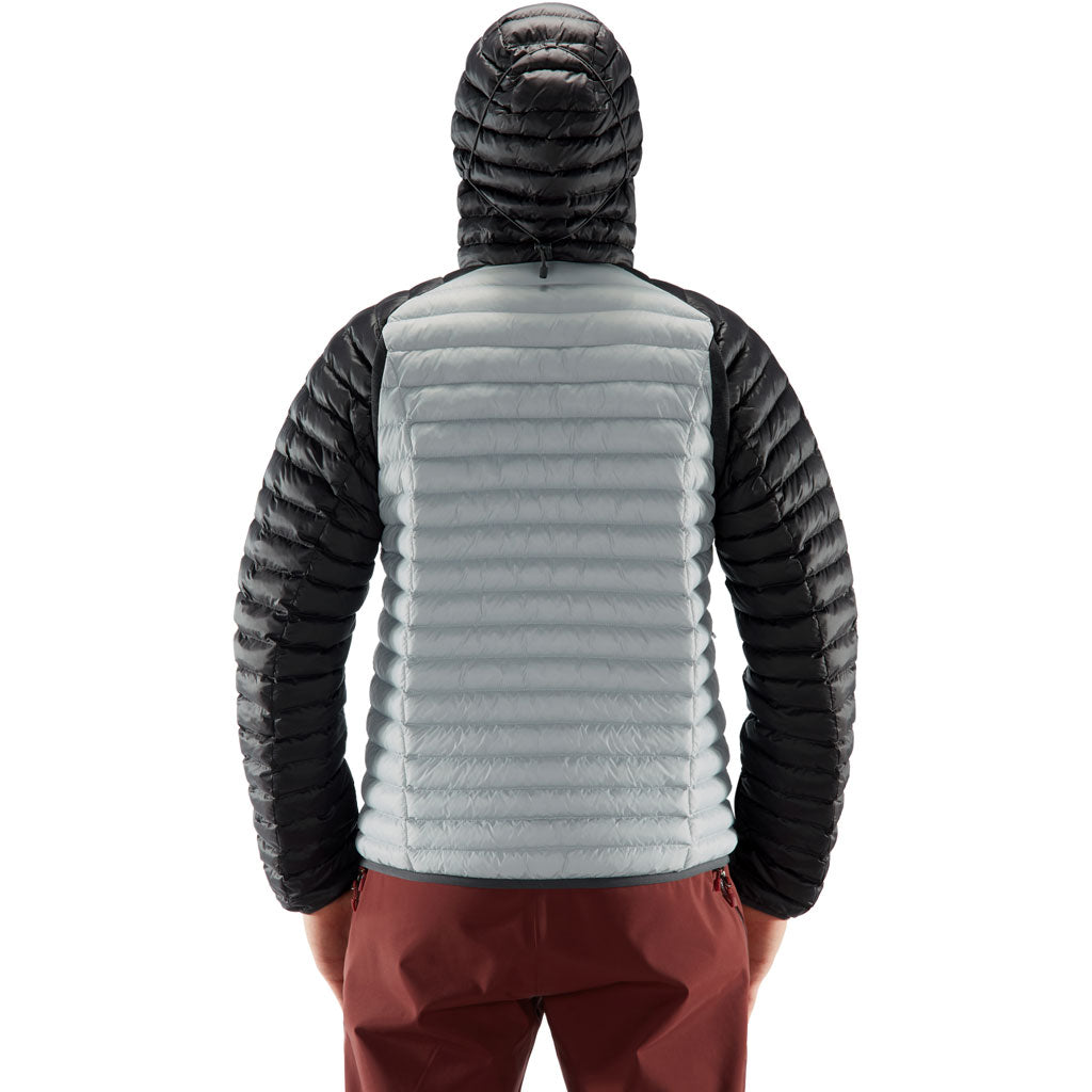 Haglofs INSULATED Jacket Men's Essens Mimic Hood Stone Grey