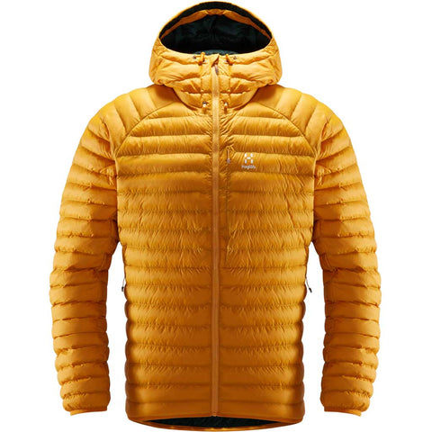 Haglofs INSULATED Jacket Men's Essens Mimic Hood Desert Yellow