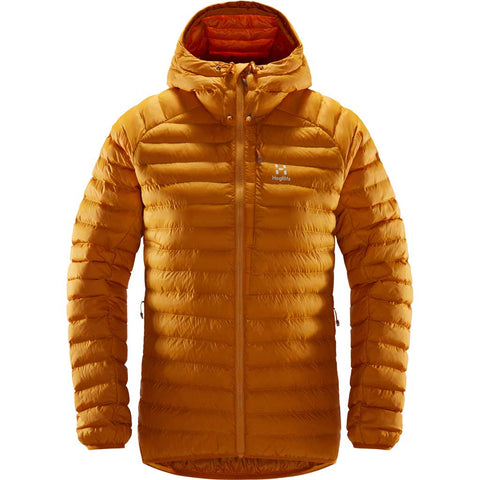 Haglofs INSULATED Jacket Women's Essens Mimic Hood Desert Yellow
