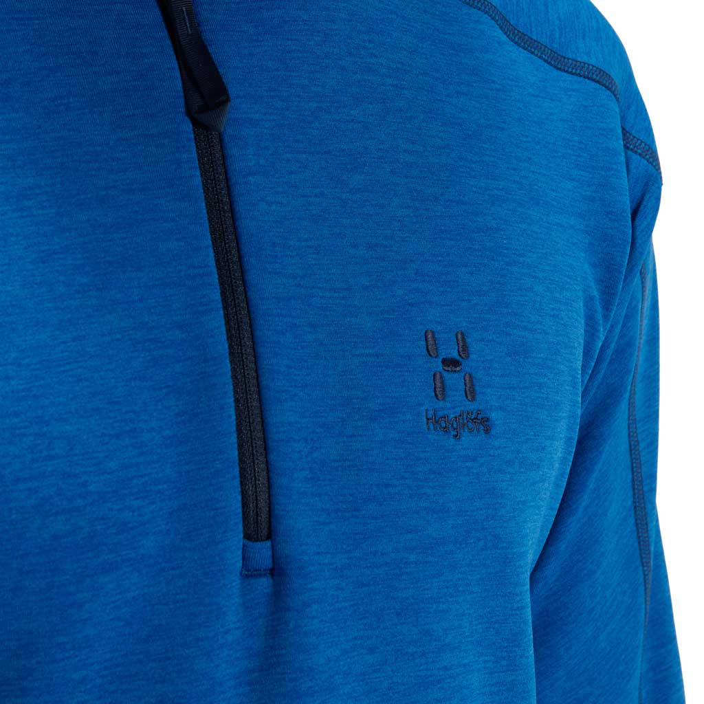 Men's Haglofs Heron HZ Fleece - Blue