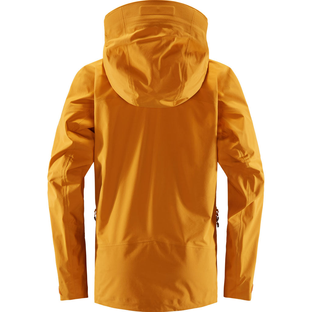 Haglofs WATERPROOF Jacket Women's Roc Spire Desert Yellow