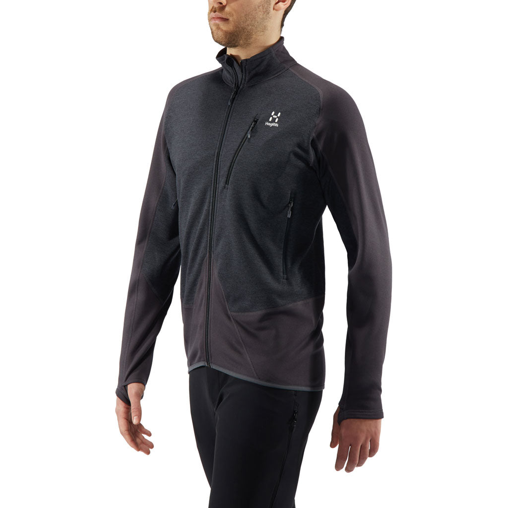 Haglofs FLEECE Jacket Men's Spire Mid Slate