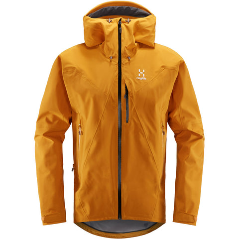 Haglofs WATERPROOF Jacket Men's LIM Touring Proof Desert Yellow
