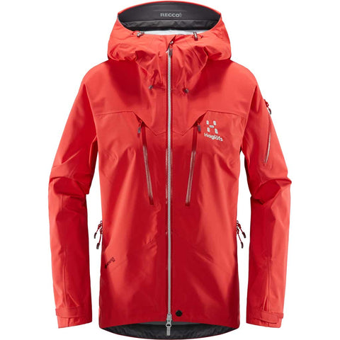 Haglofs WATERPROOF Jacket Women's Spitz Hibiscus Red
