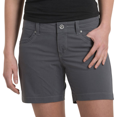 "Kuhl Shorts Women's Splash 5.5"" Inseam Shadow Grey"