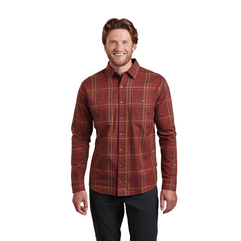 Kuhl Top Men's Fugitive LS Shirt Chili Oil