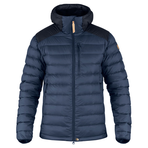 Fjall Raven INSULATED Jacket Men's Keb Touring Down Storm/Night Sky