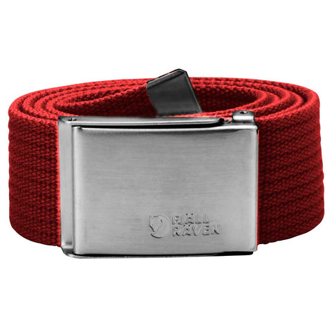 Fjall Raven Belt Canvas Red