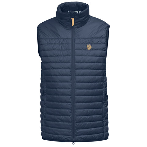 Fjall Raven INSULATED Top Men's Abisko Padded Vest Storm