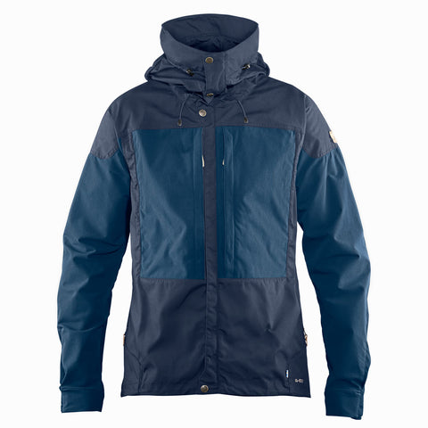 Fjall Raven SOFTSHELL Jacket Men's Keb Dark Navy/Uncle Blue