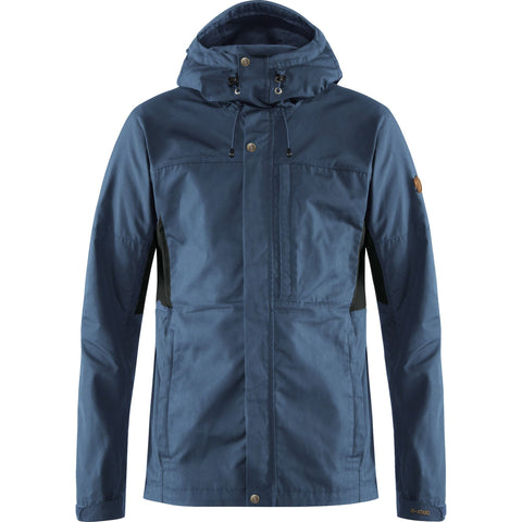 Fjallraven Men's Kaipak Jacket - Uncle Blue Dark Grey