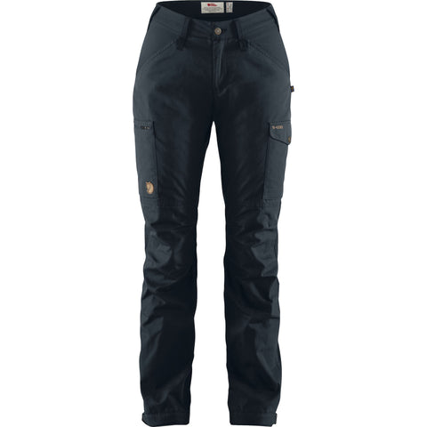 Fjallraven Women's Kaipak Trouser Curved - Navy