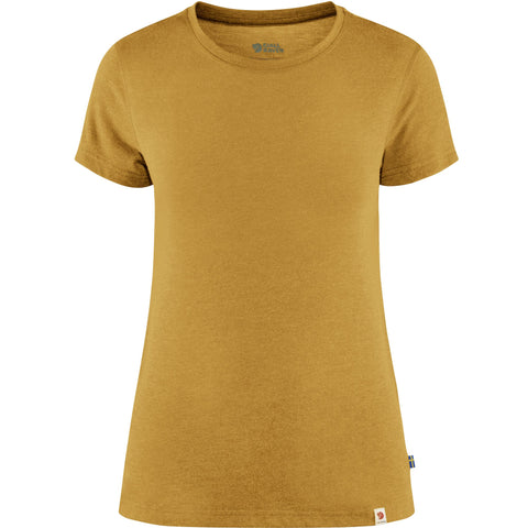 Fjallraven Women's High Coast Lite T-Shirt - Yellow