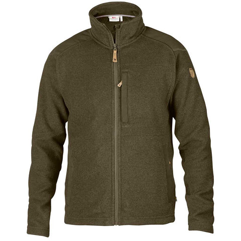 Fjall Raven FLEECE Jacket Men's Buck Dark Olive