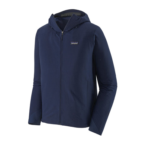 Patagonia Men's R1 Techface Hoody - Navy