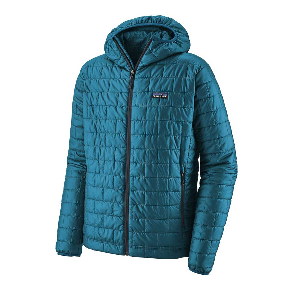 Patagonia INSULATED Jacket Men's Nano Puff Hoody Balkan Blue