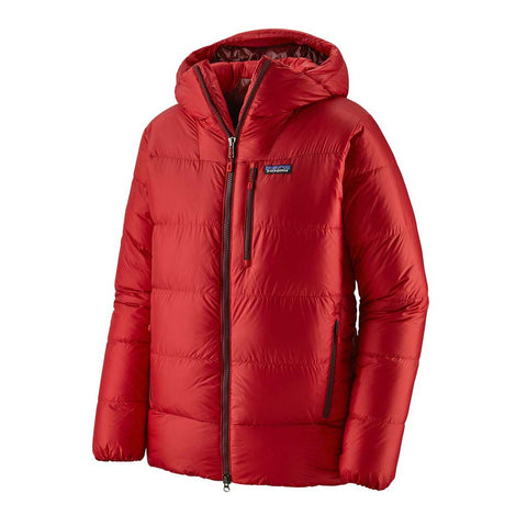 Patagonia INSULATED Jacket Men's Fitz Roy Down Parka Fire/Oxide Red