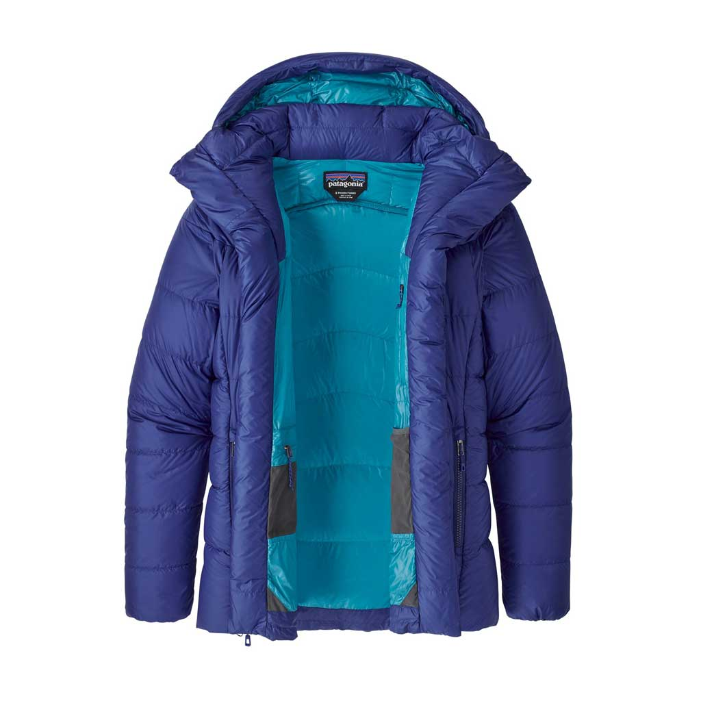 Patagonia INSULATED Jacket Women's Fitzroy Down Parka Cobalt Blue