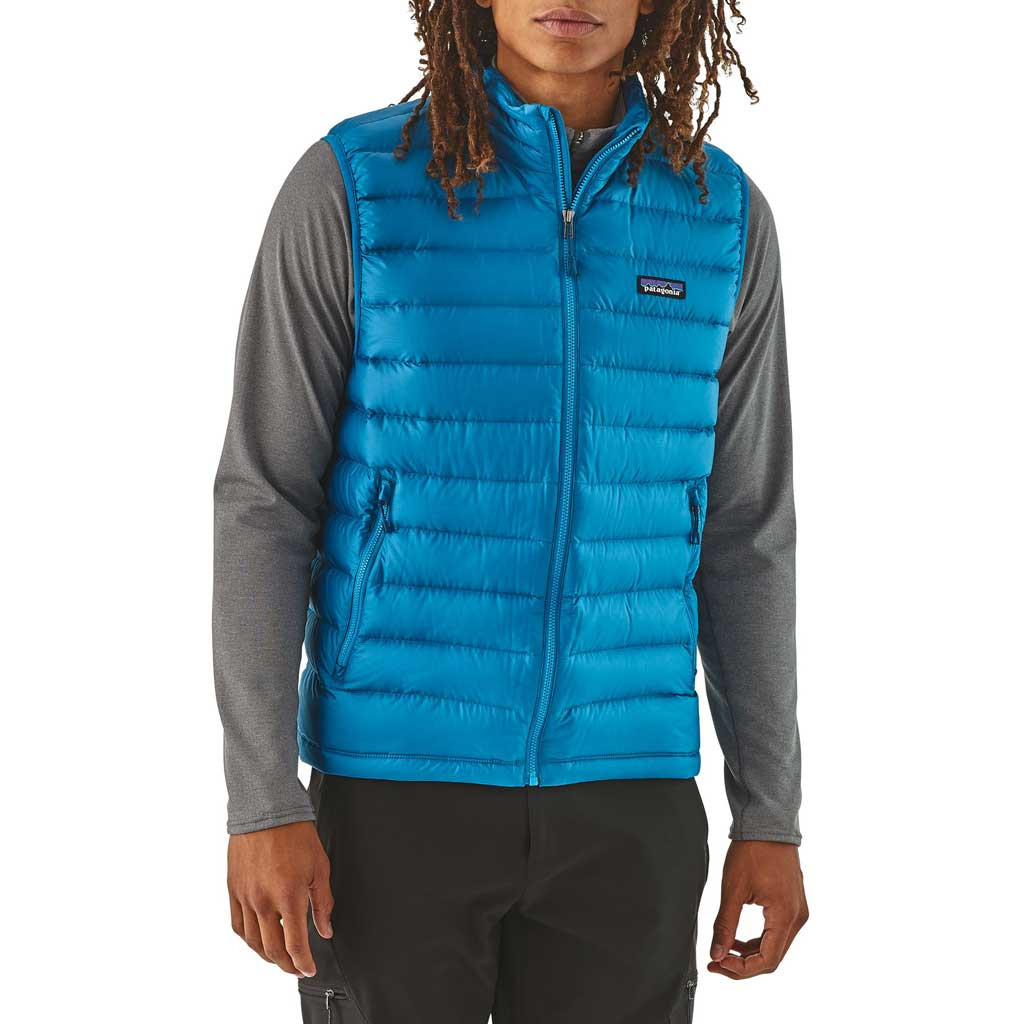 Patagonia INSULATED Top Men's Down Sweater Vest Balkan Blue