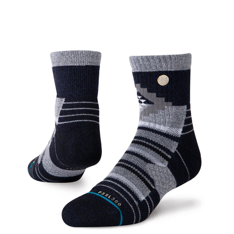 Stance Men's Hike Little Creek Quarter - Grey