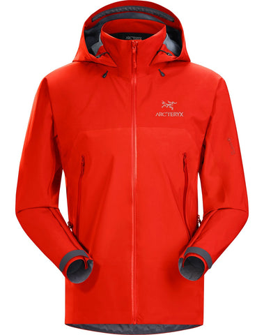 Men's Arc'teryx Beta AR Waterproof Jacket - Red