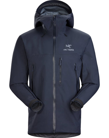 Men's Arc'teryx Beta SV Waterproof Jacket - Navy