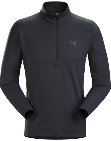 Arcteryx Men's Motus AR LS Zip Neck - Black