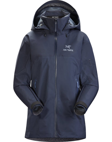Women's Arc'teryx Beta AR Waterproof Jacket - Navy