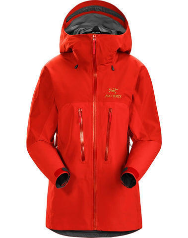 Women's Arc'teryx Alpha AR Waterproof Jacket - Red