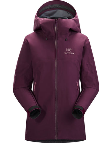 Women's Arc'teryx Beta FL Waterproof Jacket - Purple