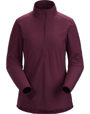 Women's Arc'teryx Delta LT Zip Neck - Purple