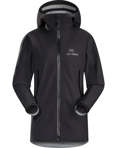 Women's Arc'teryx Zeta AR Waterproof Jacket - Black