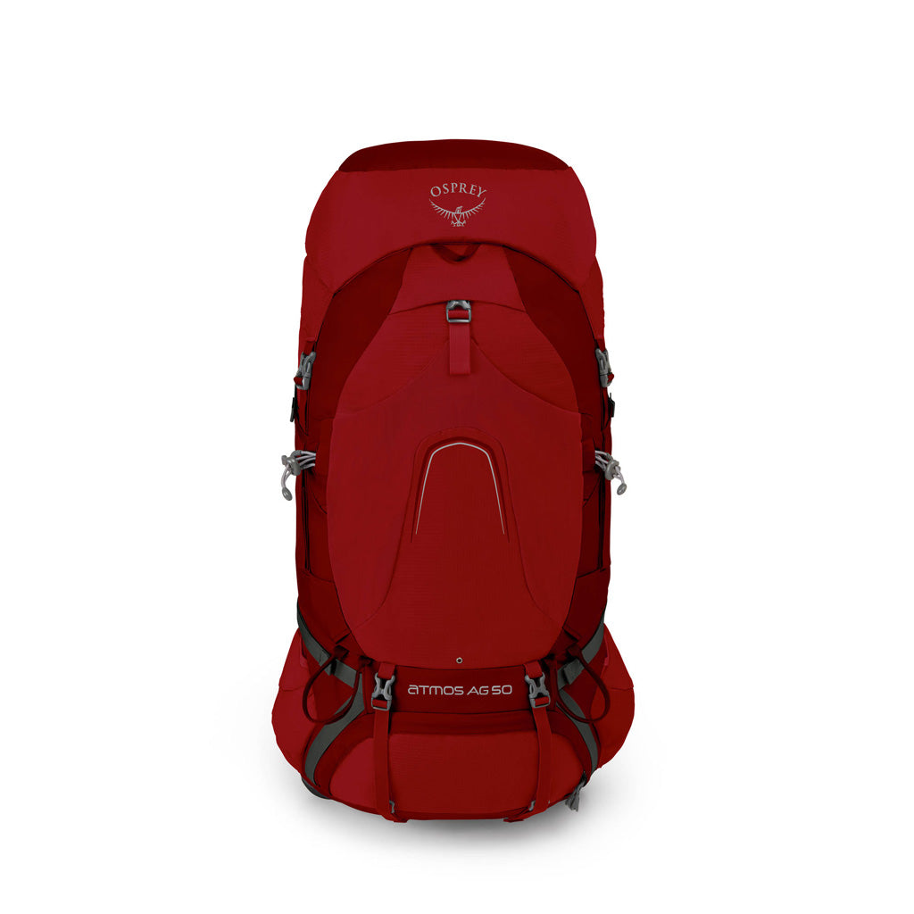 Osprey Pack Atmos AG 50 Rucksack Rigby Red