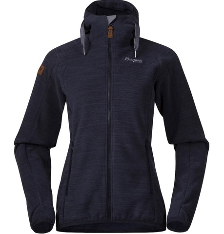 Bergans Women's Hareid Fleece Jacket - Navy