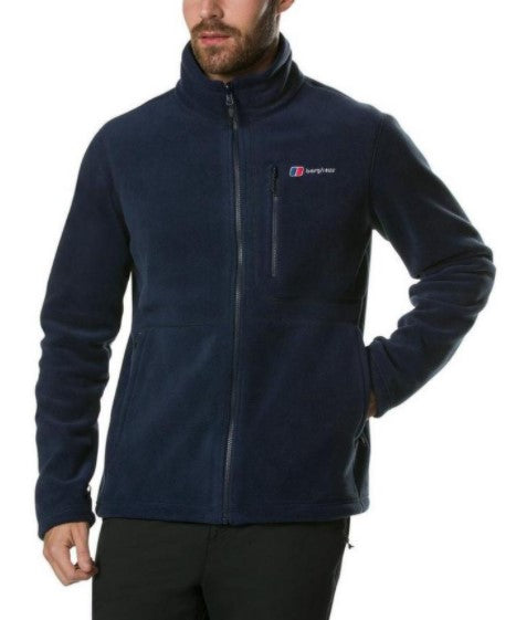Men's Berghaus Activity Interactive Fleece Jacket - Navy