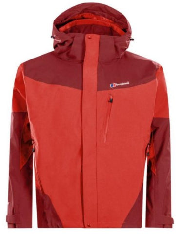 Men's Berghaus Arran Waterproof Jacket - Red